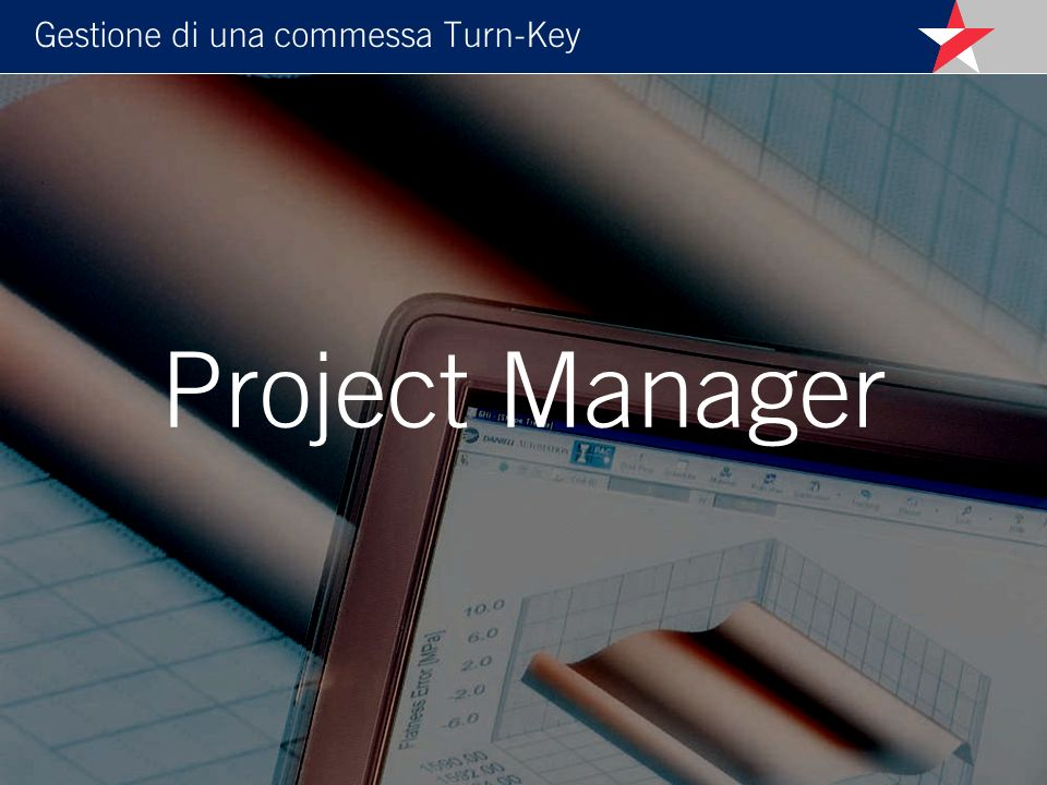 Gestione di una commessa Turn-Key Project Manager