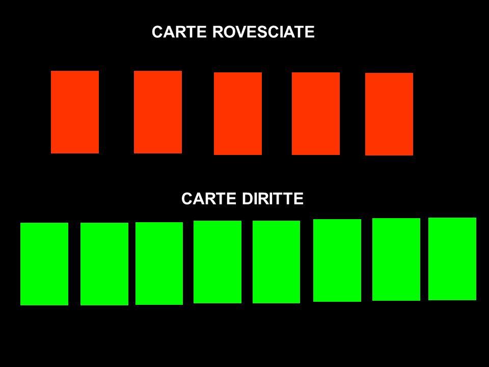 CARTE DIRITTE CARTE ROVESCIATE