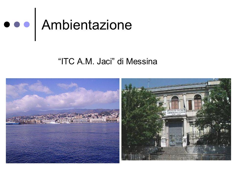 Ambientazione ITC A.M. Jaci di Messina