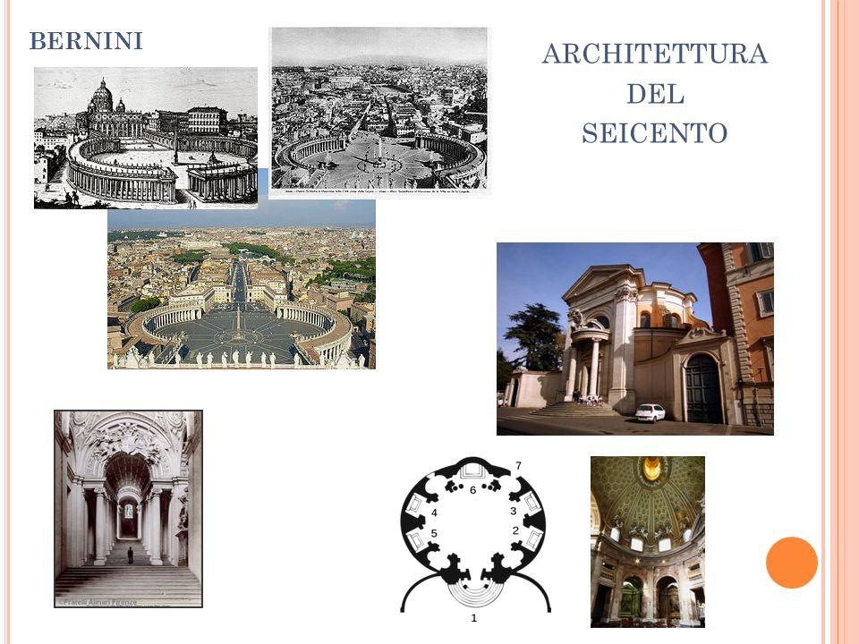 ARCHITETTURA DEL SEICENTO BERNINI