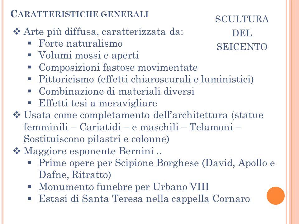 S CULTURA DEL SEICENTO BERNINI