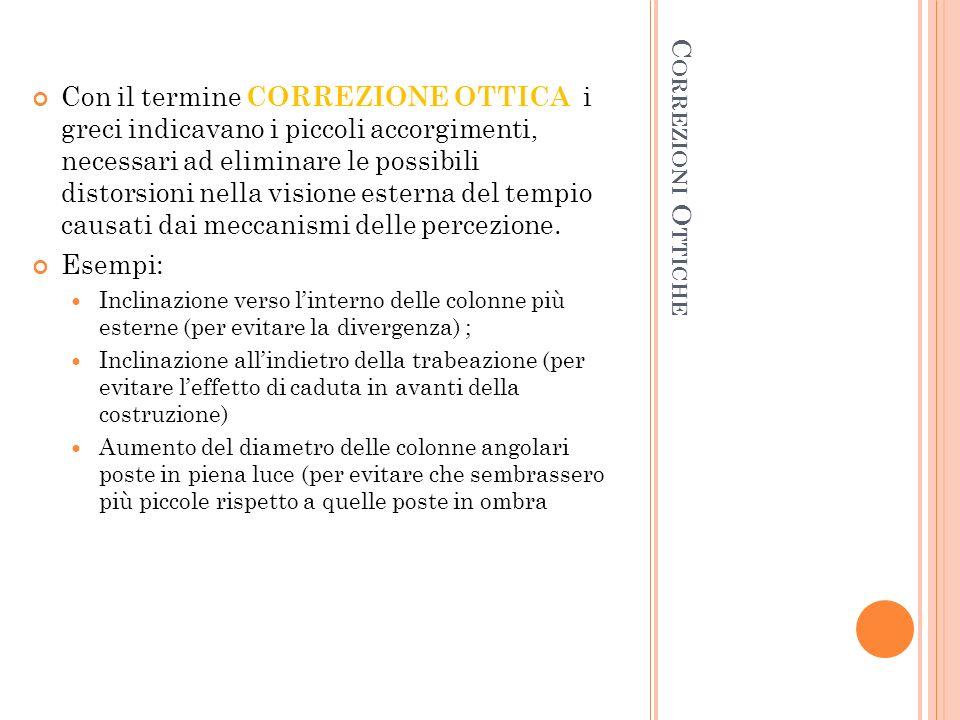 O RDINE D ORICO Più Antico (VII sec.a.