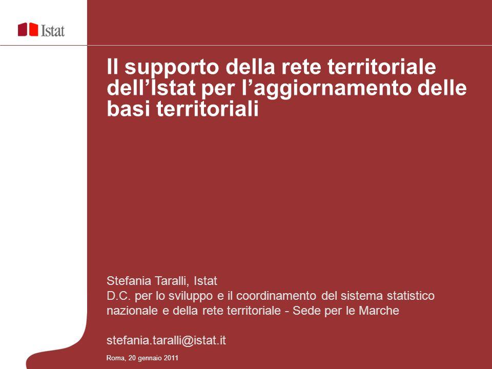 Stefania Taralli, Istat D.C. per lo sviluppo e il coordinamento del sistema statistico nazionale e della rete territoriale - Sede per le Marche stefan