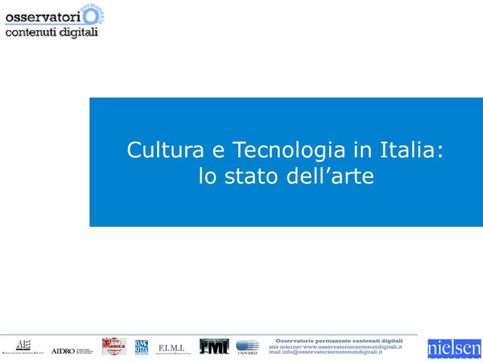 Cultura e Tecnologia in Italia: lo stato dellarte