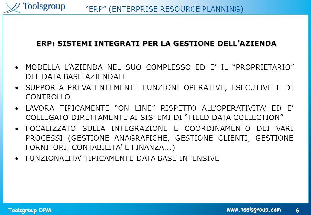 Toolsgroup DPM 27 www.toolsgroup.com La Curva Stock - Servizio aggregata Quanto costerà migliorare il livello di servizio .