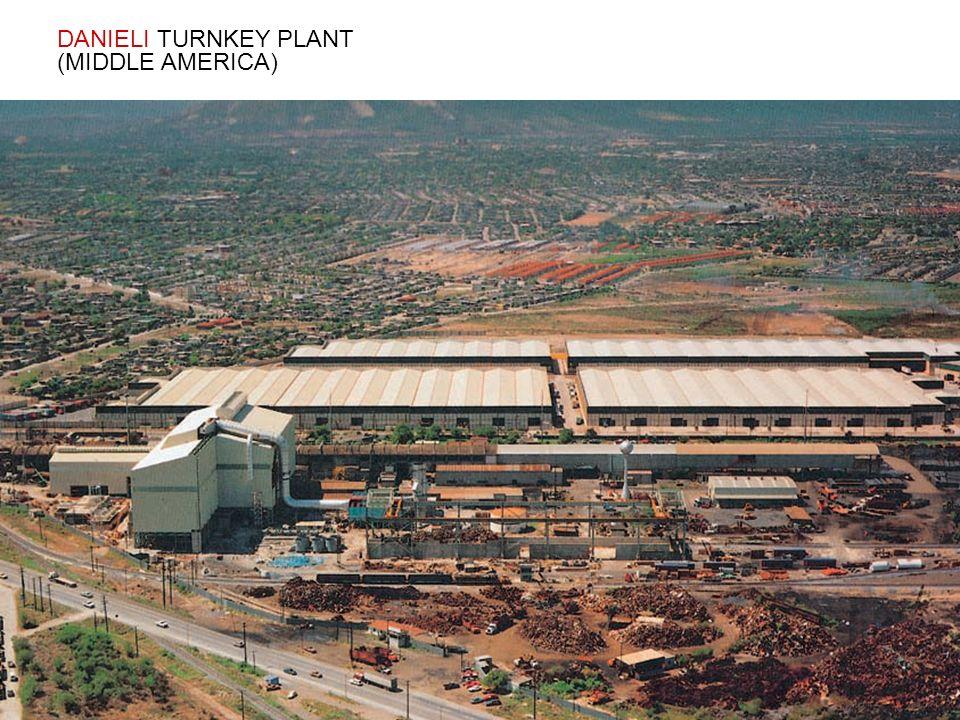 DANIELI TURNKEY PLANT (MIDDLE AMERICA)