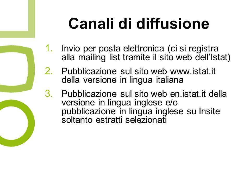 Canali di diffusione 1.