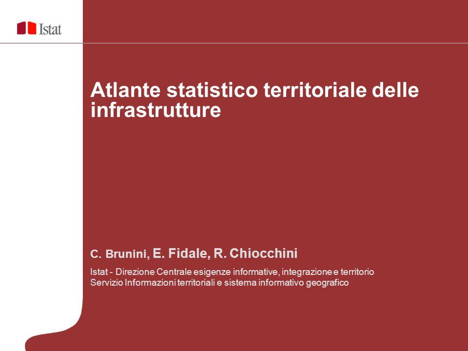 C. Brunini, E. Fidale, R. Chiocchini Istat - Direzione Centrale esigenze informative, integrazione e territorio Servizio Informazioni territoriali e s