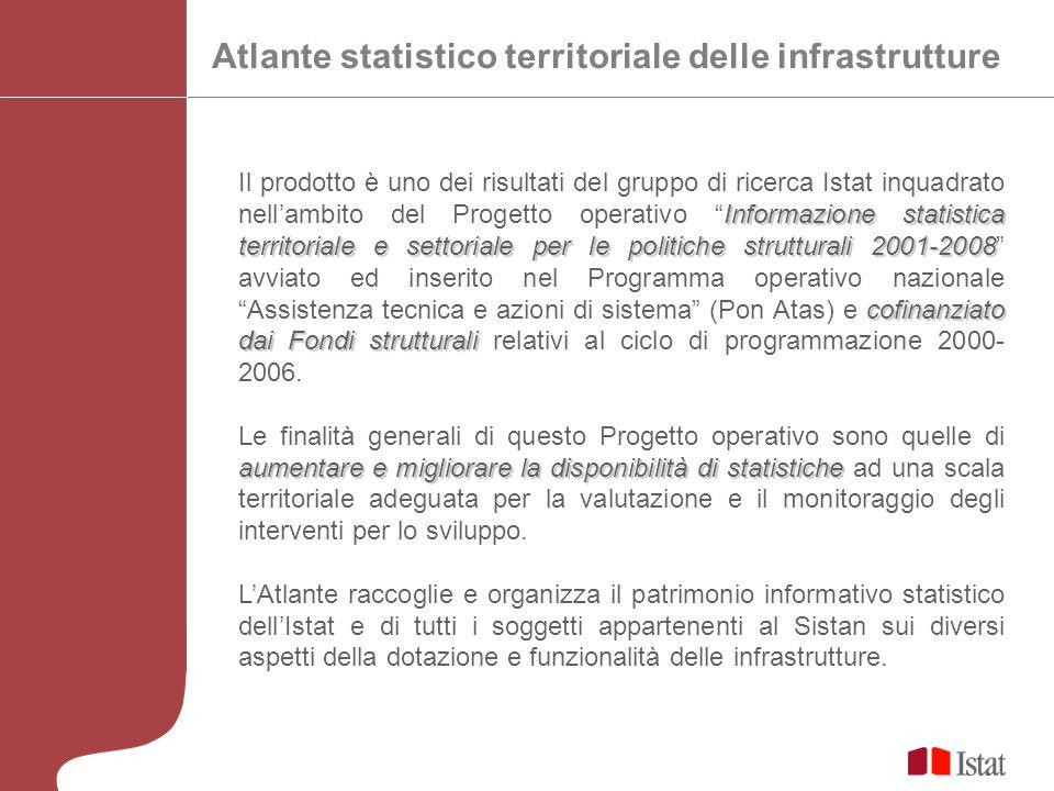 Informazione statistica territoriale e settoriale per le politiche strutturali 2001-2008 cofinanziato dai Fondi strutturali Il prodotto è uno dei risu
