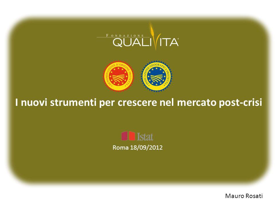 I nuovi strumenti per crescere nel mercato post-crisi Mauro Rosati Roma 18/09/2012