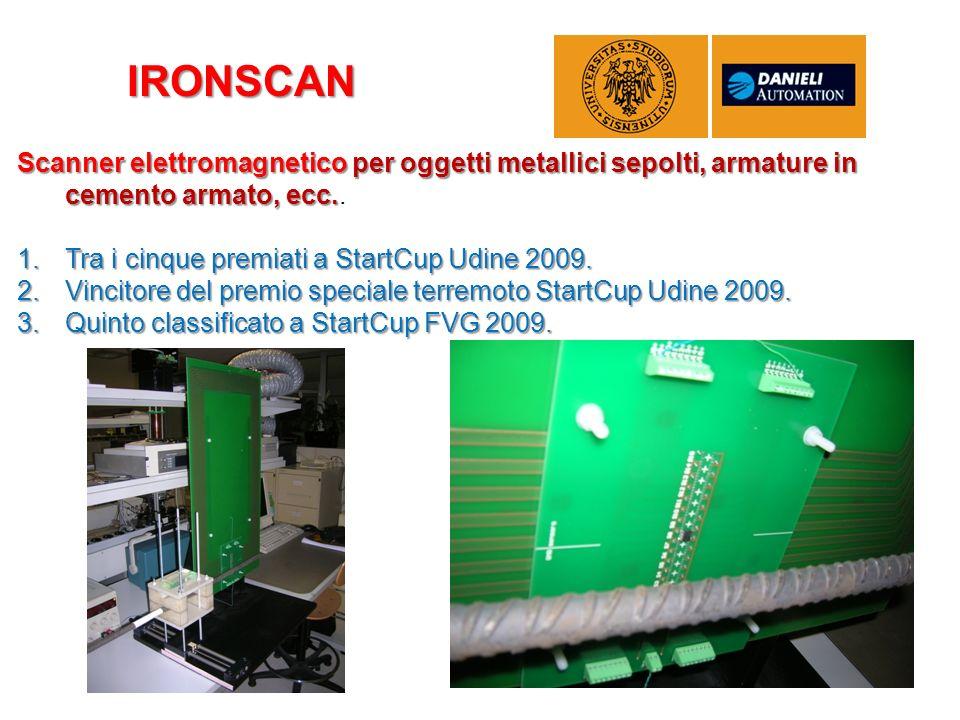 Scanner elettromagnetico per oggetti metallici sepolti, armature in cemento armato, ecc. Scanner elettromagnetico per oggetti metallici sepolti, armat