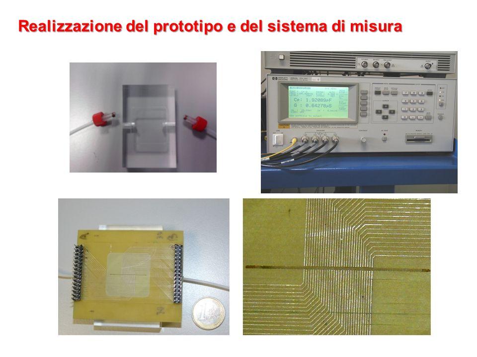 Realizzazione del prototipo e del sistema di misura