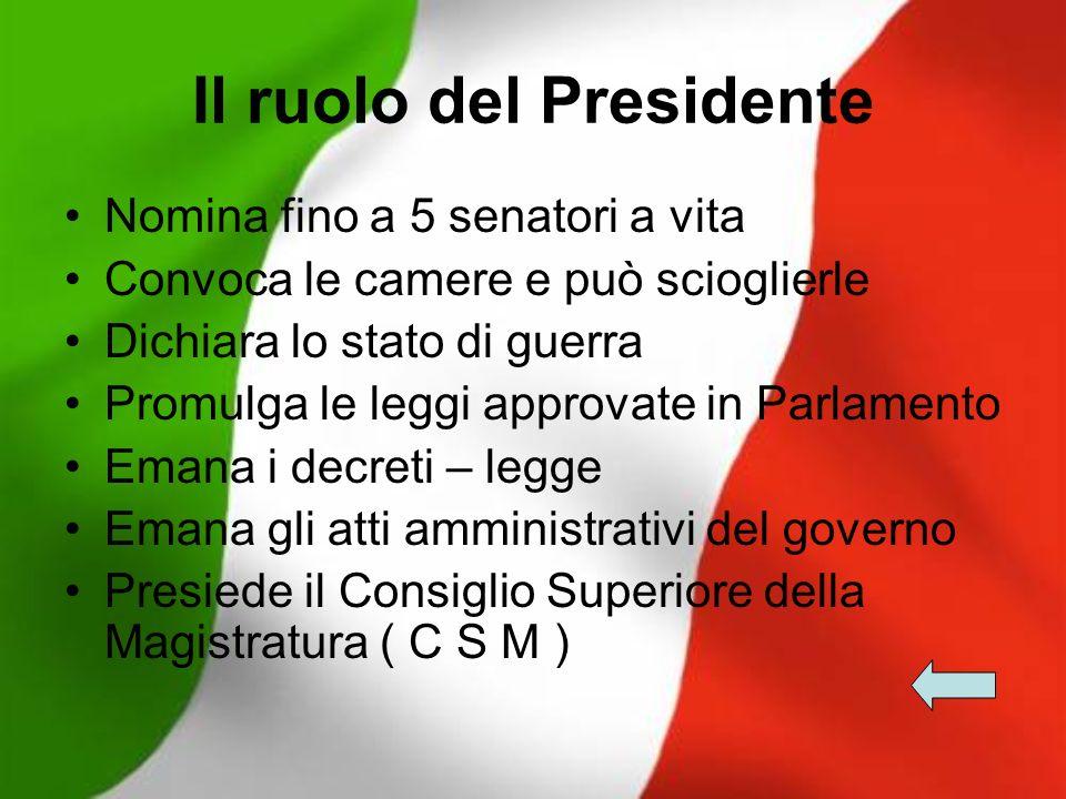 Il Parlamento italiano È l Organo costituzionale che ha la funzione legislativa.