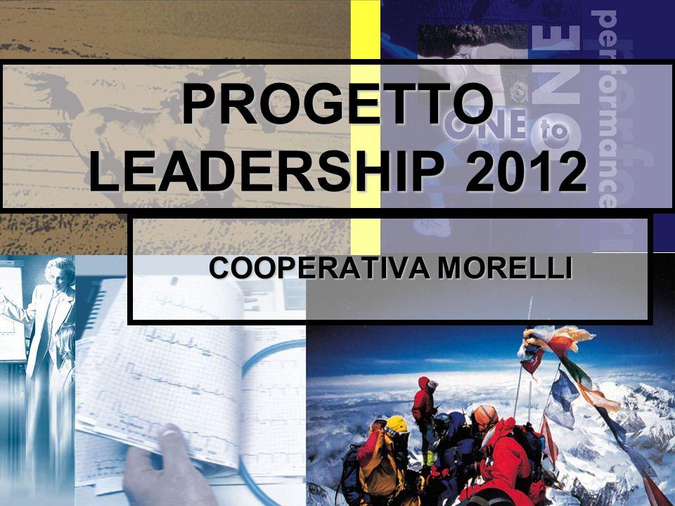 1 PROGETTO LEADERSHIP 2012 COOPERATIVA MORELLI