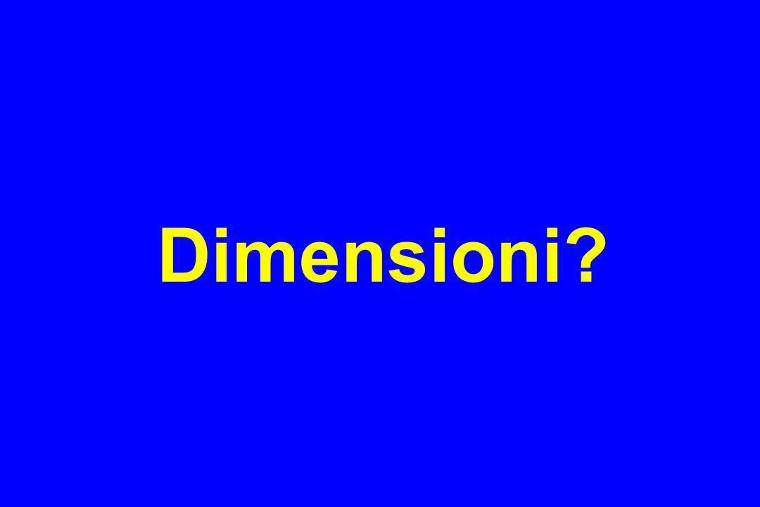 Dimensioni?