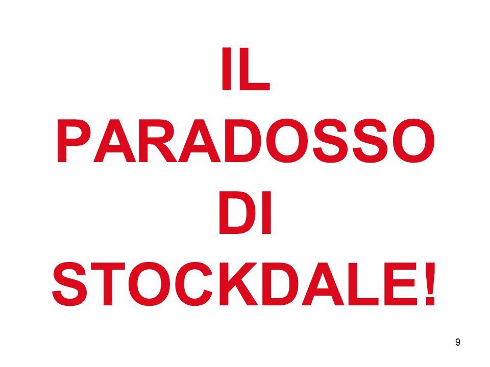 IL PARADOSSO DI STOCKDALE! 9