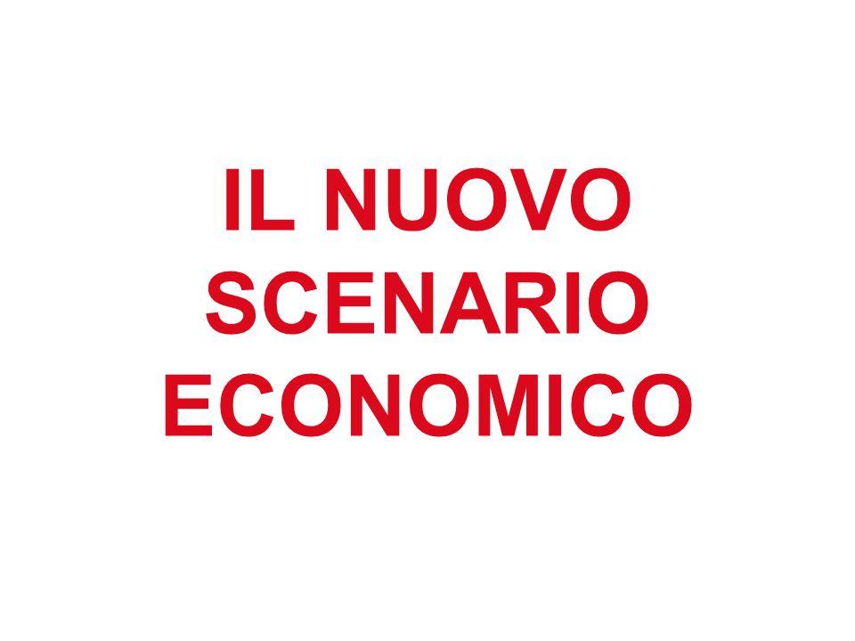 IL NUOVO SCENARIO ECONOMICO