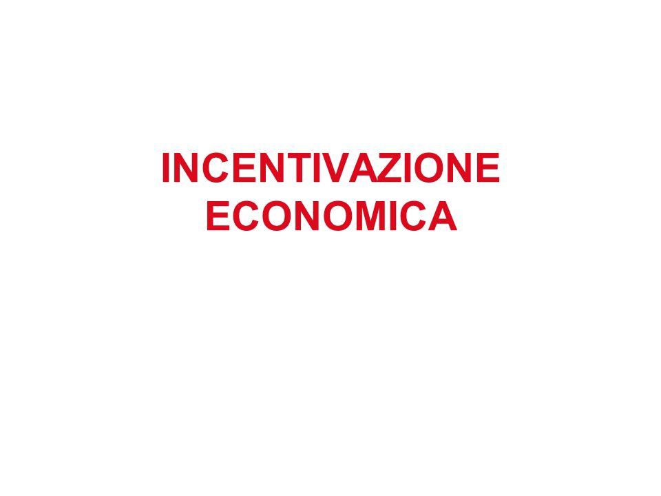 INCENTIVAZIONE ECONOMICA