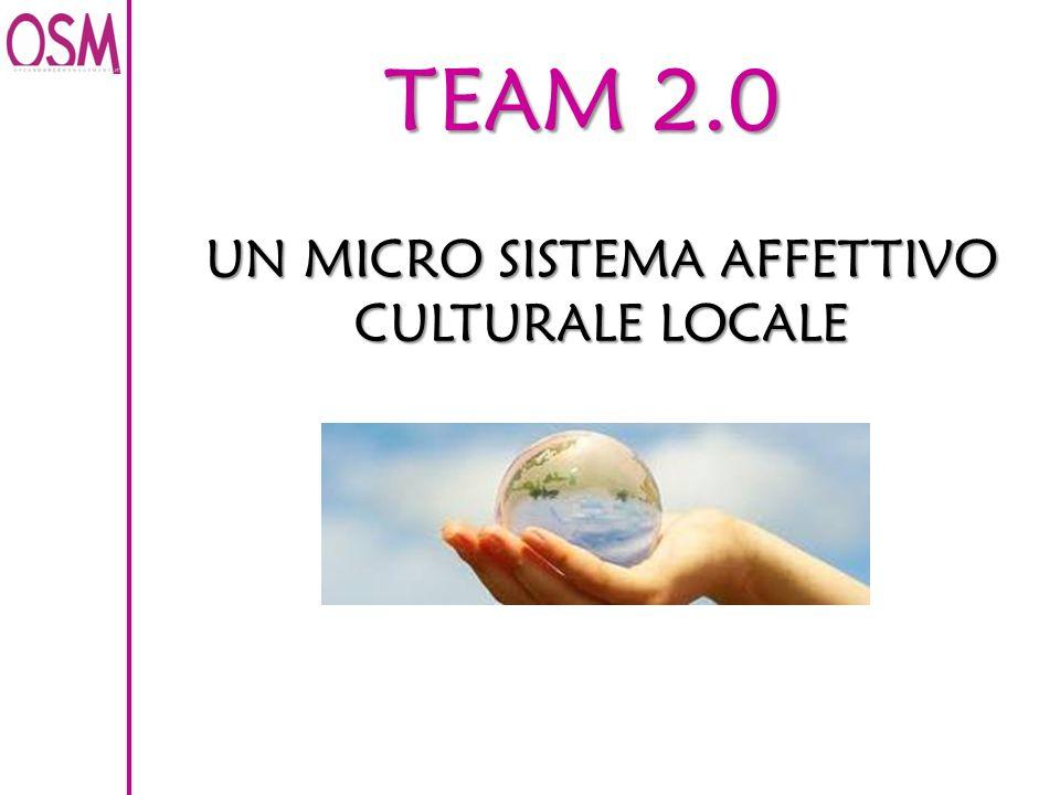 TEAM 2.0 UN MICRO SISTEMA AFFETTIVO CULTURALE LOCALE