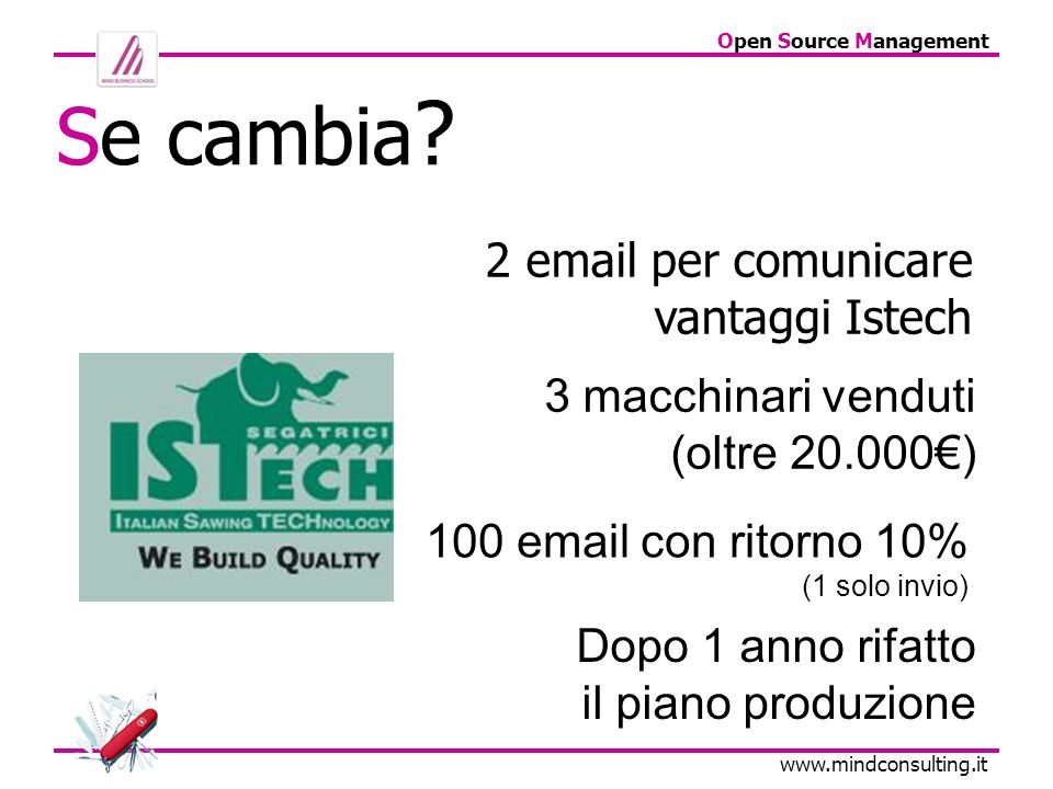 Open Source Management   Se cambia .