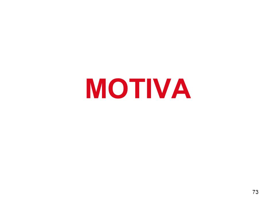 73 MOTIVA