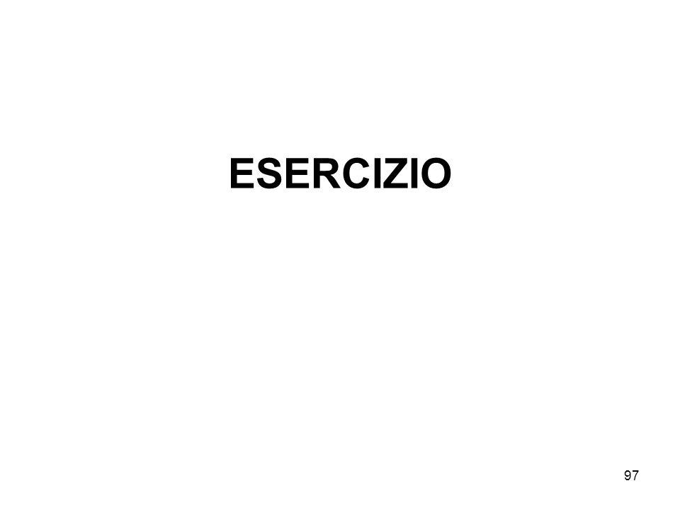 97 ESERCIZIO