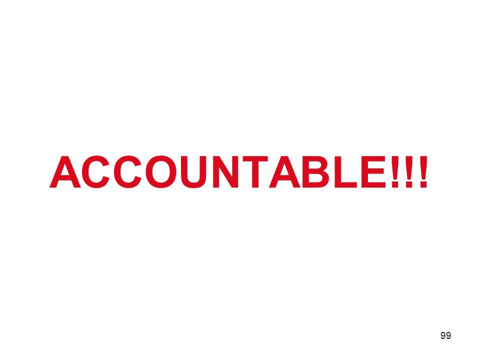 99 ACCOUNTABLE!!!