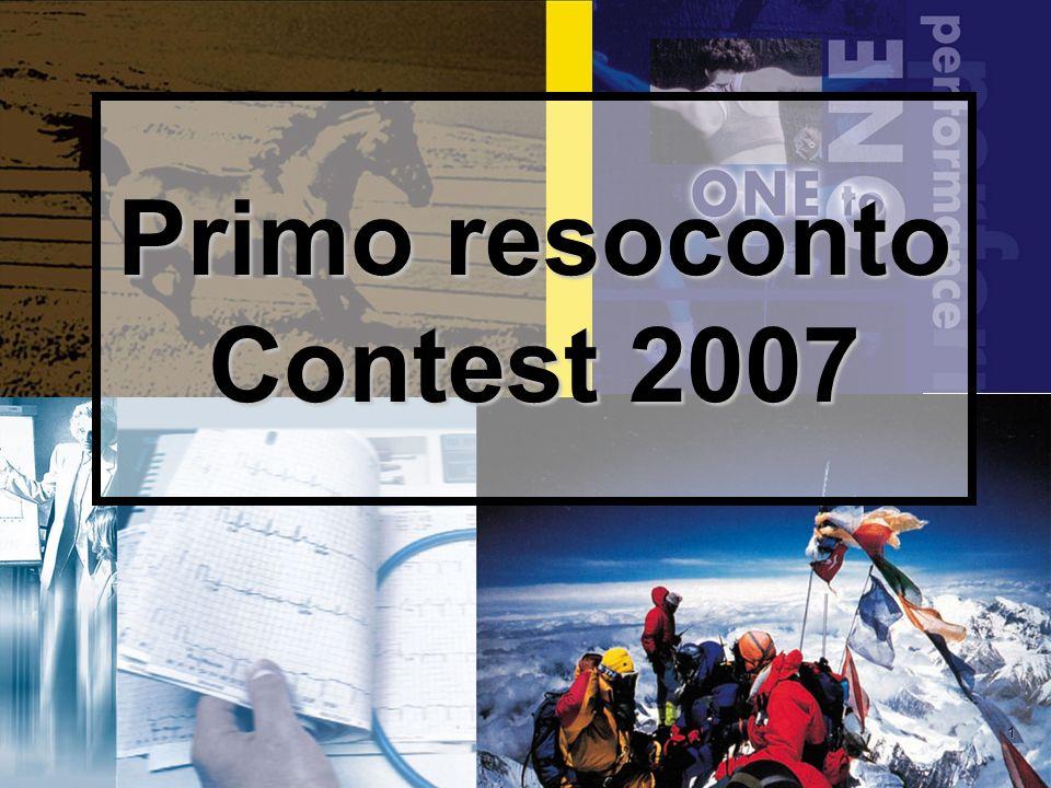 1 Primo resoconto Contest 2007