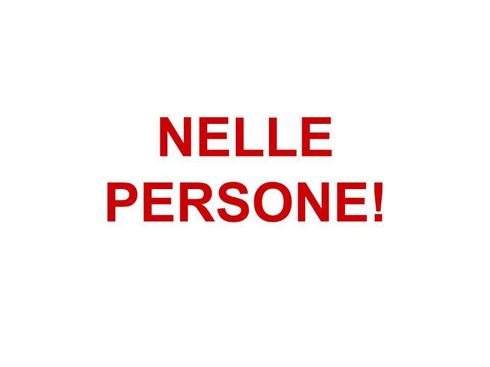 NELLE PERSONE!
