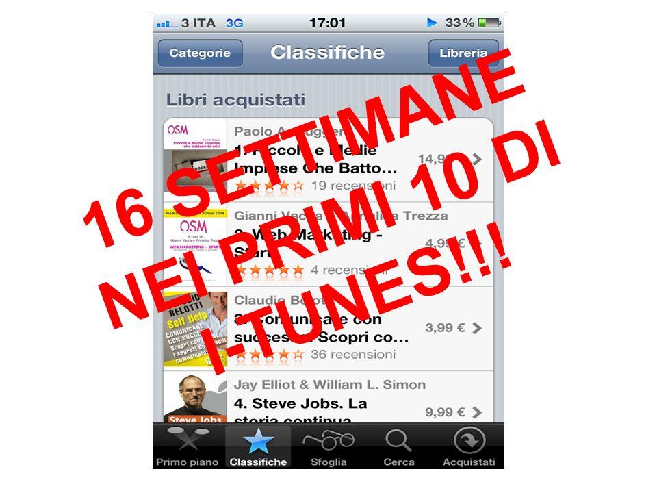 16 SETTIMANE NEI PRIMI 10 DI I-TUNES!!!