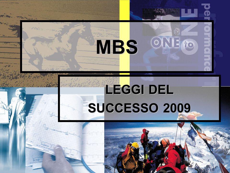1 MBS LEGGI DEL SUCCESSO 2009