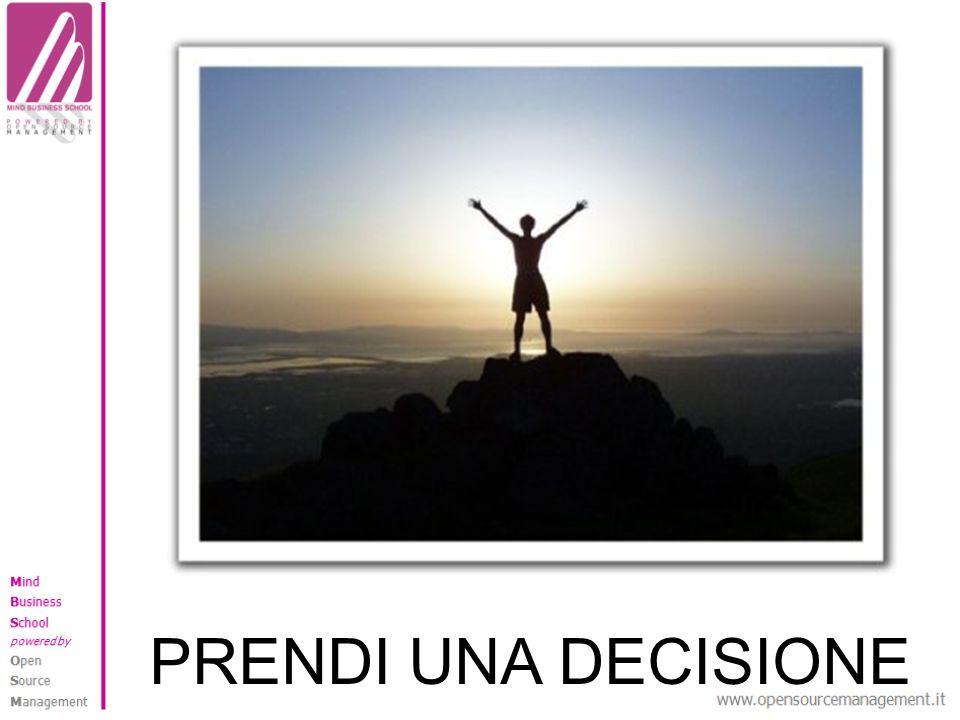 PRENDI UNA DECISIONE