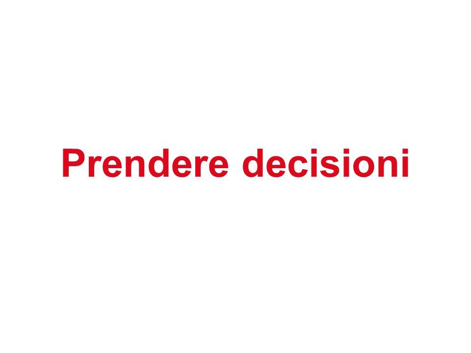 Prendere decisioni