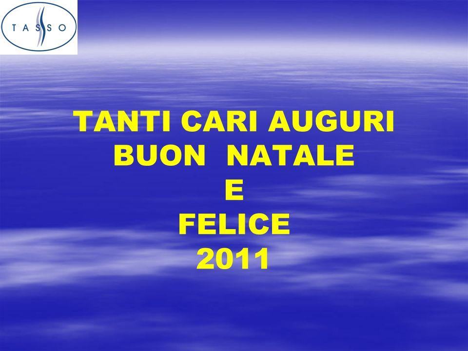 TANTI CARI AUGURI BUON NATALE E FELICE 2011