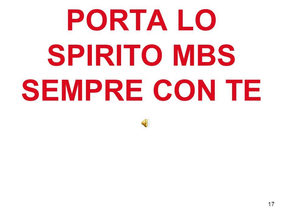 17 PORTA LO SPIRITO MBS SEMPRE CON TE