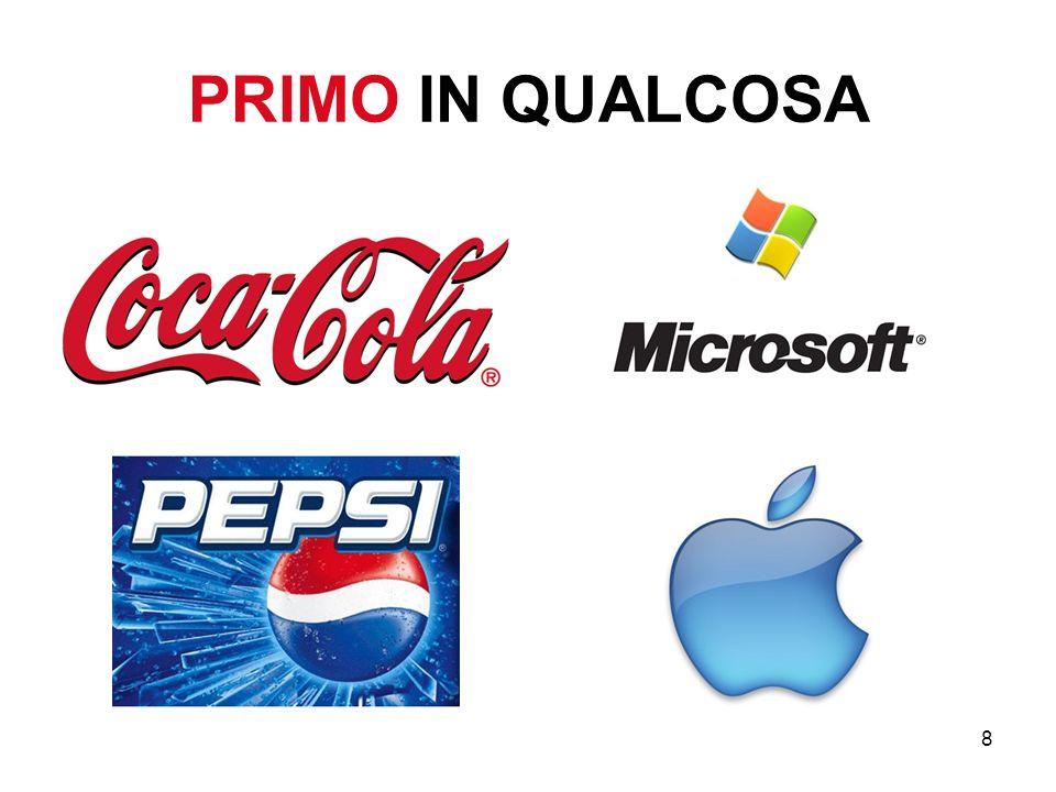 9 Siamo la prima azienda che… Siamo il primo (la prima) ______________