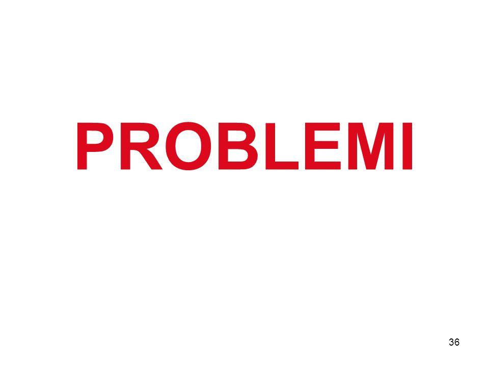 36 PROBLEMI