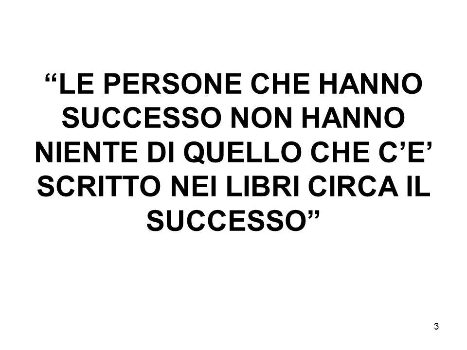 3 LE PERSONE CHE HANNO SUCCESSO NON HANNO NIENTE DI QUELLO CHE CE SCRITTO NEI LIBRI CIRCA IL SUCCESSO