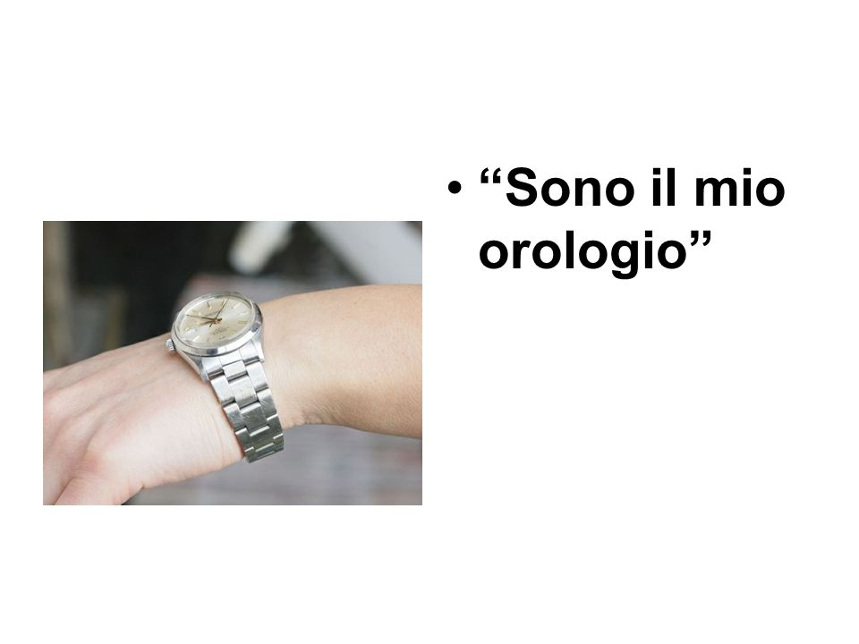 Sono il mio orologio