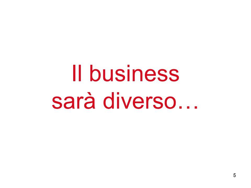 5 Il business sarà diverso…