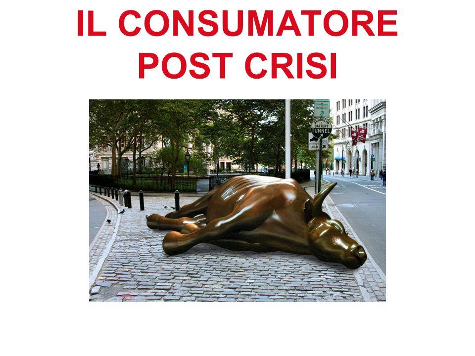 IL CONSUMATORE POST CRISI