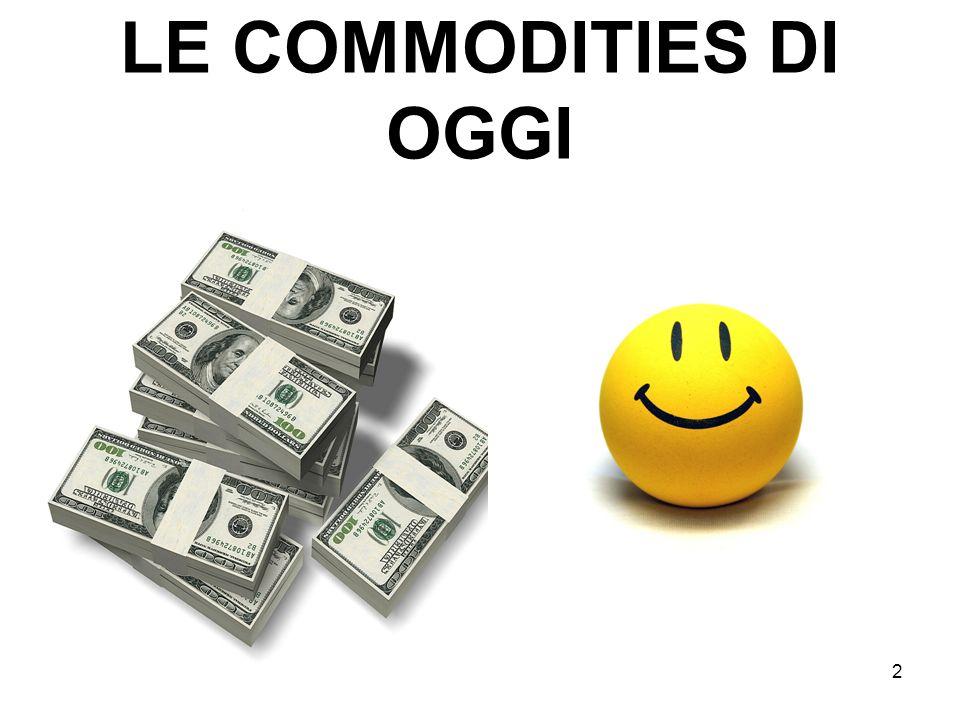 2 LE COMMODITIES DI OGGI