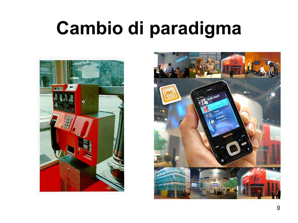 9 Cambio di paradigma
