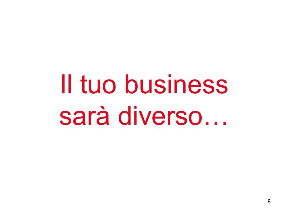 8 Il tuo business sarà diverso…