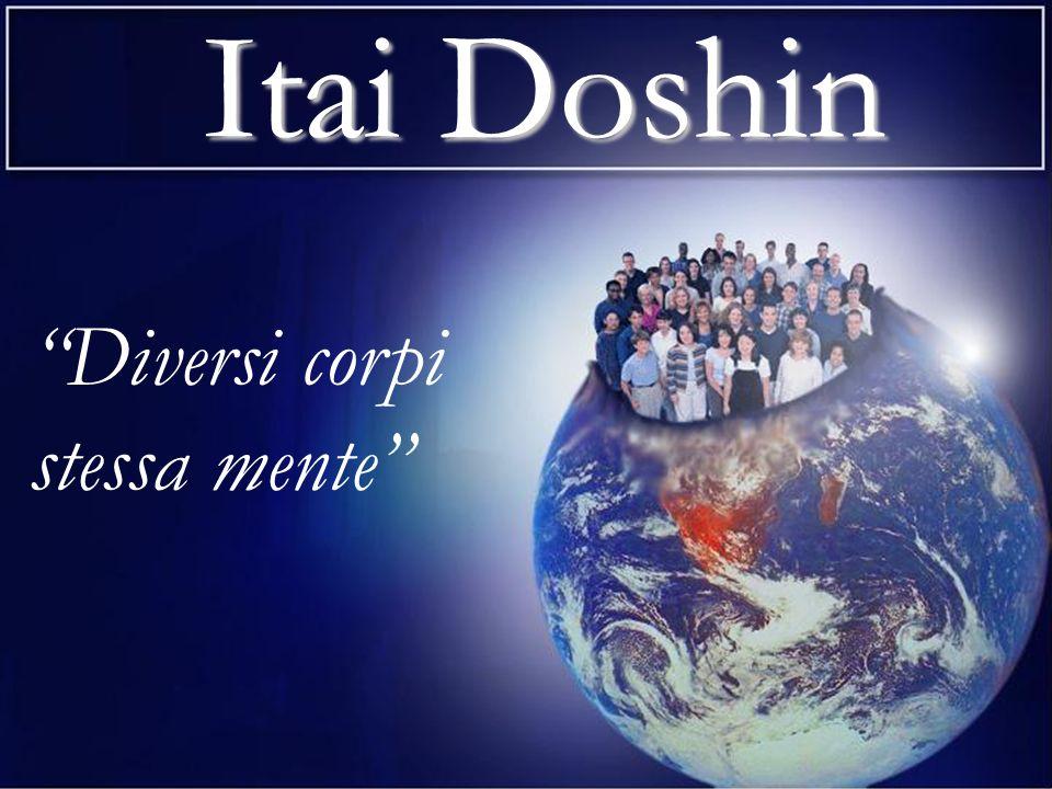 Itai Doshin Itai si traduce con diversi (i) corpi (tai) e si riferisce alle innumerevoli qualità inerenti alla vita individuale che rendono ognuno unico e prezioso.
