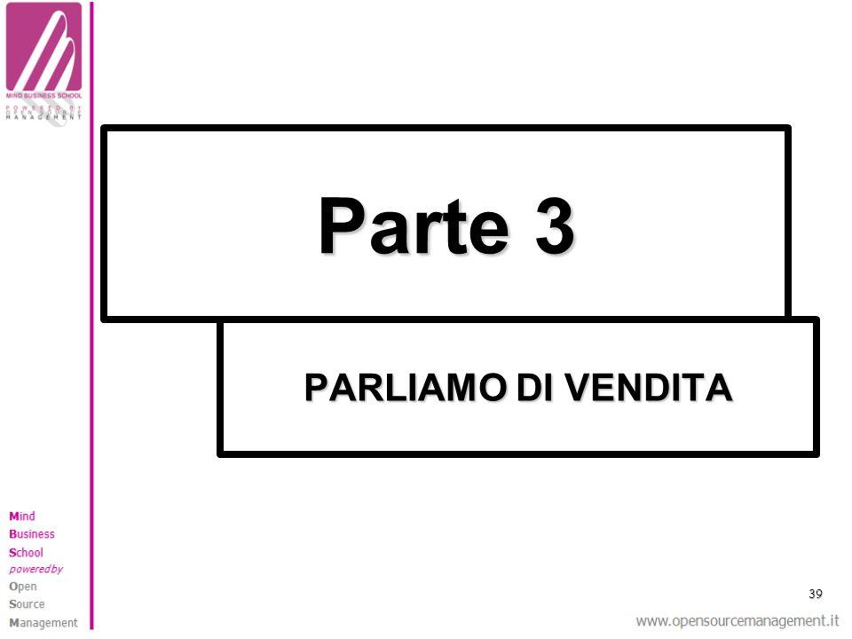 PARLIAMO DI VENDITA Parte 3 39
