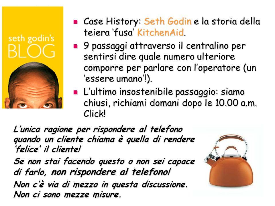 Case History: Seth Godin e la storia della teiera fusa KitchenAid.