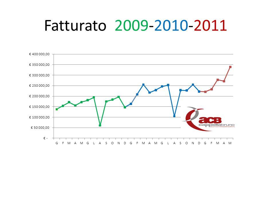 Fatturato 2009-2010-2011