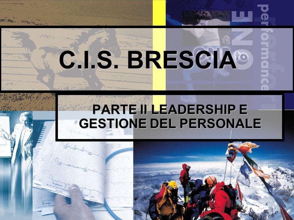 22 Primo dato relativo alla Leadership Riuscirai ad avere Leadership solamente sulle persone del cui comportamento ti consideri completamente CAUSA.