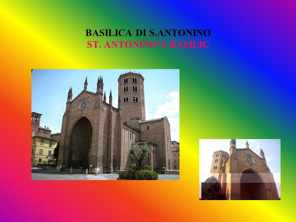 BASILICA DI S.ANTONINO ST. ANTONINOS BASILIC